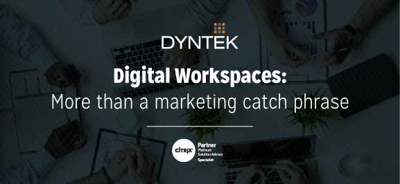 DynTek Citrix Workspace Blog Header