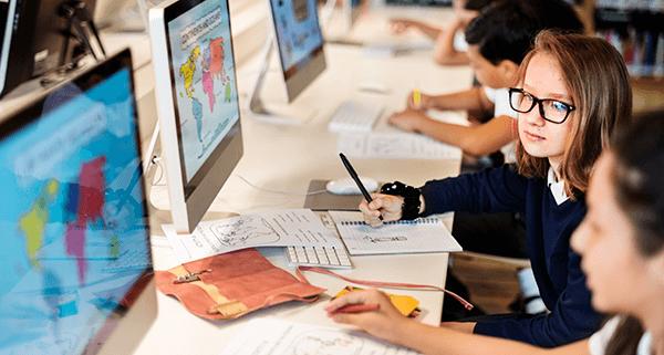 education-school-student-computer-network