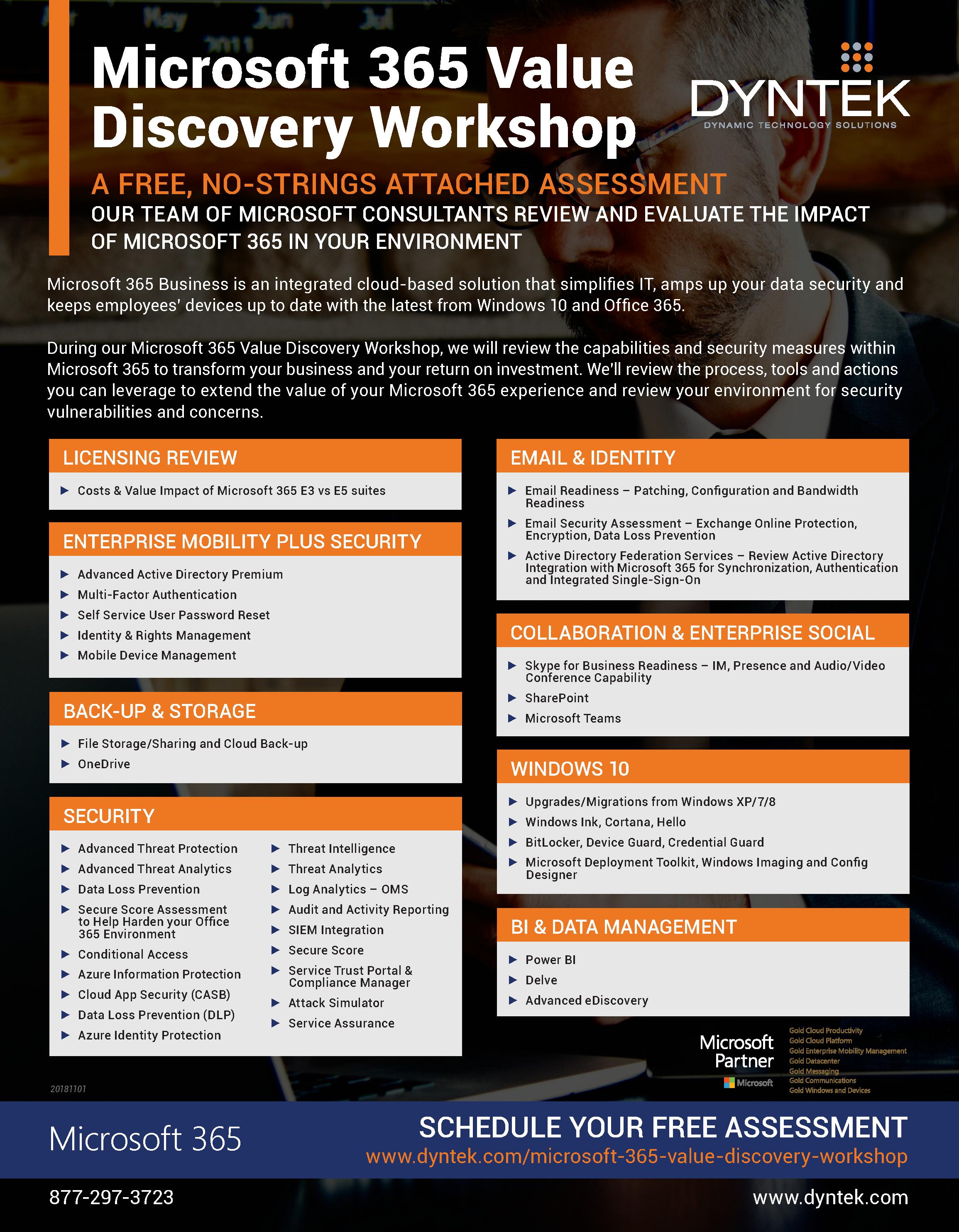 Microsoft 365 Value Discovery Workshop-print