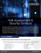 Risk Assessment-Security Services-DynTek