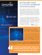 Safeguard Your O365 and Azure -DynTek Cloud Secure_Page_1