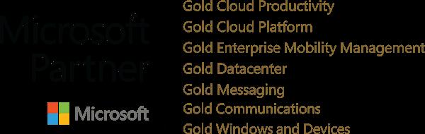 dyntek microsoft gold logo 2018