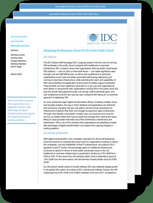 idc citrix report