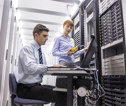 Enterprise network architecture solutions from DynTek make your business more efficient.